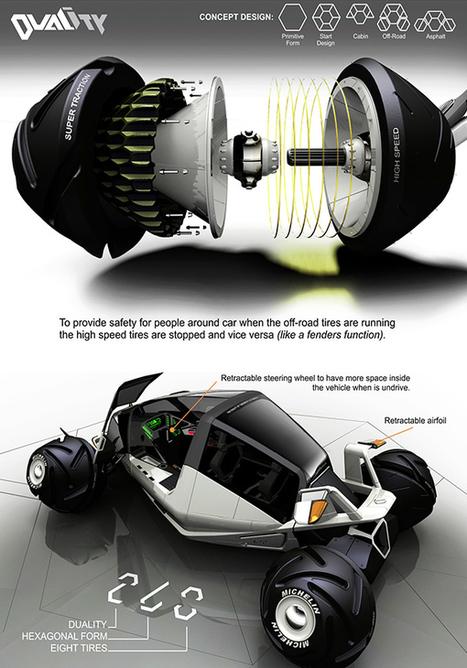 Duality - Concept Vehicle by Fernando Machado » Yanko Design | Creativity & Innovation | Scoop.it