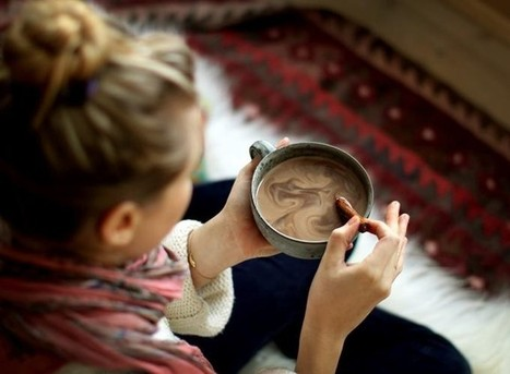 A Nutritionist Told Us to Drink Hot Chocolate | Amanda's Recipe Box | Scoop.it