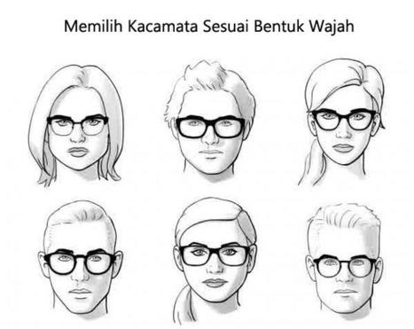 Inilah 4 Cara Sederhana Memilih Kacamata Sesuai Bentuk Wajah b7eb4d11f8