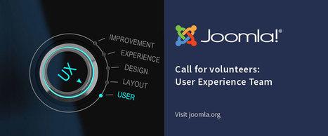 Joomla! UX Team Call For Volunteers   Joomla Community News   Scoop.it