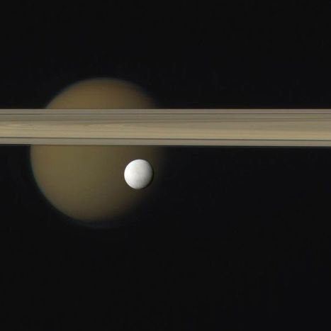 """The Oceans of Saturn's """"Geyser-Moon"""" Enceladus --New NASA Research Reveals a Hotspot for Life 