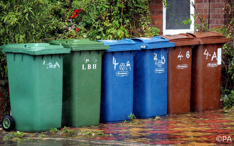 """Is falling recycling rate due to 'green fatigue'? (""""change in packaging or too many bins?"""") 