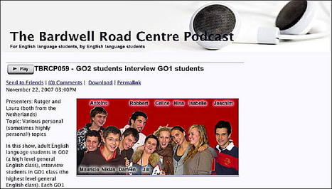 TESL-EJ 11.4 -- Using Podcasts in the EFL Classroom   Technology and language learning   Scoop.it