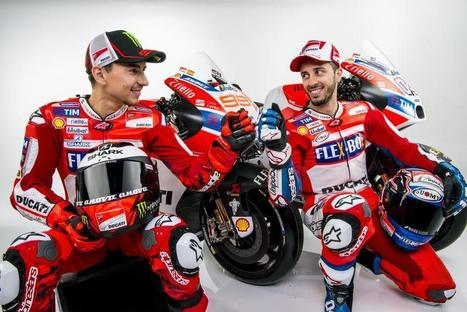 2017 Ducati MotoGP Team Unveiled In Italy - Cycle News | California Flat Track Association (CFTA) | Scoop.it