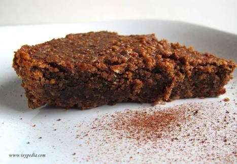 Torta di nocciole al cioccolato   Alimentazione Naturale Vegetariana   Scoop.it