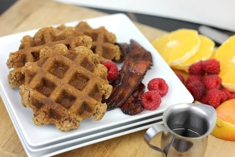Egg Free Paleo Waffles - Empowered Sustenance | Nutrition & Recipes | Scoop.it