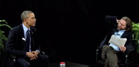 Quand Barack Obama est interviewé par Zach Galifianakis - Yes I Will | News from net | Scoop.it