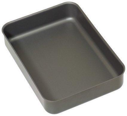 Prima Stainless Steel Oblong Roaster Roasting Baking Tray Tin /& Rack 42 x 31 cm