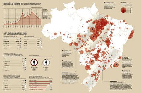 Mapa do trabalho escravo no Brasil   Cartografia Ciudadana   Scoop.it