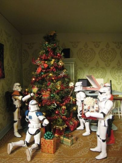 Starwars Geek Christmas #starwars #santaclaus #darkvador #darkvader  - La sale Com | heaven | Scoop.it