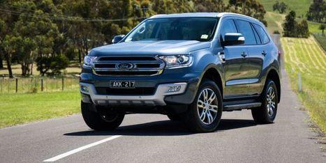 2018 Ford Everest Ute Like Suv Opptrends