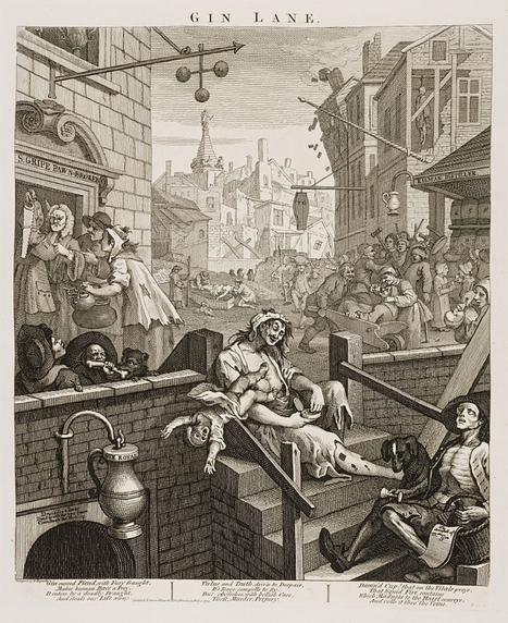 How a Gin Craze Nearly Destroyed 18th-Century London | From the Bar | Scoop.it