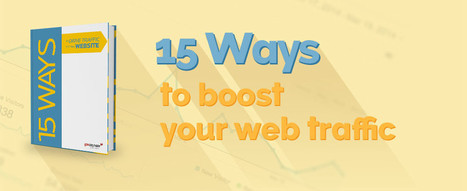 15 Ways to Drive Traffic to Your Website | eGovernment | Scoop.it