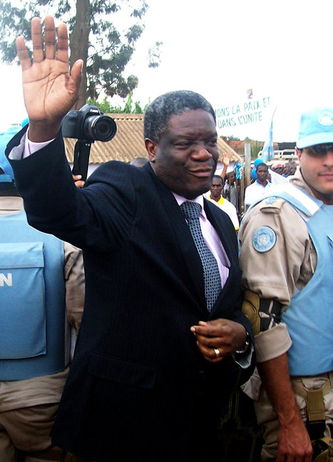 Denis Mukwege, Doctor Who Aids Rape Victims, Returns to Congo | this curious life | Scoop.it