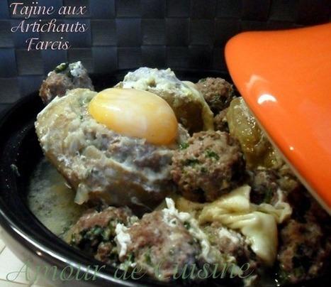 artichauts farcis a la viande hachee | Cuisine Algerienne, cuisine du monde | Scoop.it