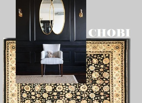 "Alexanian Area Rug Combinations | Alexanian Carpet & Flooring - ""The World at Your Feet"" www.alexanian.com 