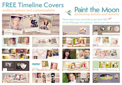 Facebook Cover Templates Business Pages Free From Paint the Moon | Photoshop Actions for Photographers by Paint the Moon | Annie Haven | Haven Brand | Scoop.it
