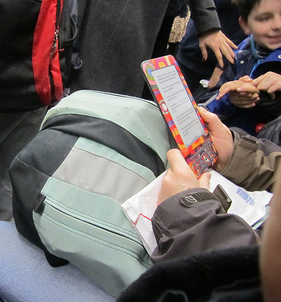 Boys Value Reading More with Ereaders — The Digital Shift | E-books in School Libraries | Scoop.it