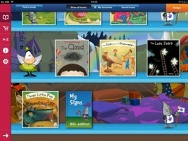 ITV Launches World's First Children's Storybook App with Sign Language | Tessa Winship.com Children's Picture Books | Scoop.it