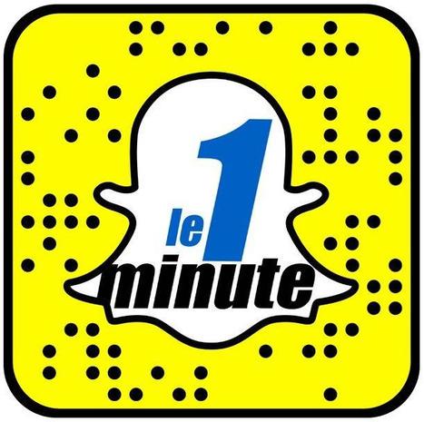 La RTBF vous informe en 1 minute top chrono sur Snapchat | DocPresseESJ | Scoop.it