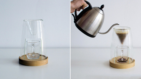 You'll Never Want to Put Away This Elegant Pour-Over Coffee Dripper - Gizmodo | Curating Mode ! | Scoop.it