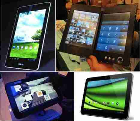 2012 sera l'année des tablettes | TerminauxAlternatifs.fr | mlearn | Scoop.it