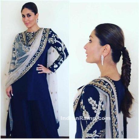 69cb68d63b8 Kareena Kapoor Khan in Hyderabad for Malabar Gold and Diamond Store  Opening