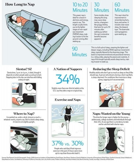 How To Take The Perfect Nap [infographic] | Aspiring Outliers | Scoop.it