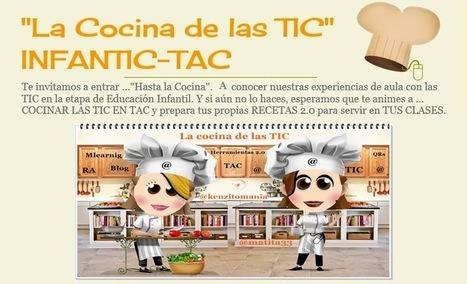 """""""La Cocina de las TIC"""" INFANTIC-TAC: Ingredientes 2.0 para aumentar la participación en tu blog de aula.   Edu-Recursos 2.0   Scoop.it"""