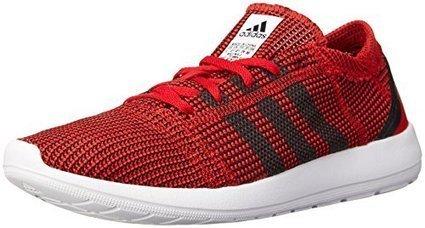 a5ed192d47 adidas Performance Men's Element Refine Tricot M Lifestyle Running Shoe,  Scarlet/Black 1/Running White, 9 M US