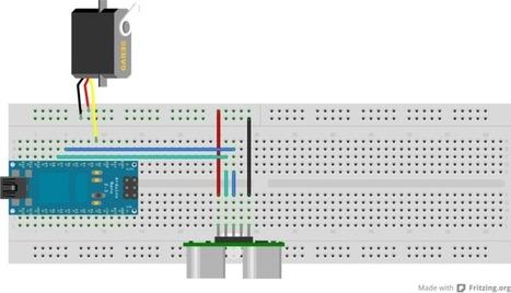 Sensor de ultrasonidos + Servo con Arduino | Graciela Bertancud | Scoop.it
