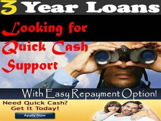 3 Year Loans >> 3 Year Loans A Monetary Assistance For Longer