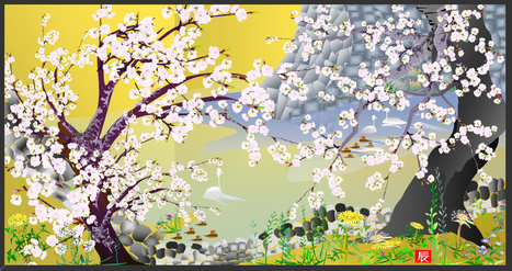 Tatsuo Horiuchi | the 73-year old Excel spreadsheet artist | Truth, Beauty, Love | Scoop.it
