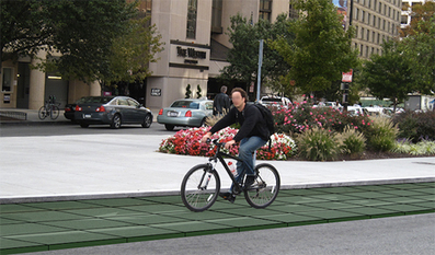 Recycled Snap-Together Tiles Make for a Safer Bike Lane | VIM | Scoop.it