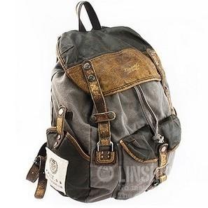 bekümmert Segeltuch Leder  Jagdrucksack unisex by Ubackpack | personalized canvas messenger bags and backpack | Scoop.it