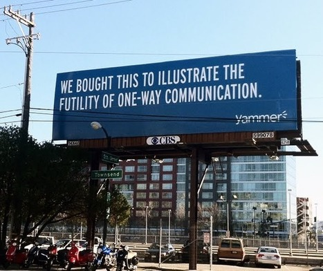 Missed this? Yammer Uses Billboards to Show That Billboards Don't Work…and Fails   The Hangline   Arts Independent   Scoop.it