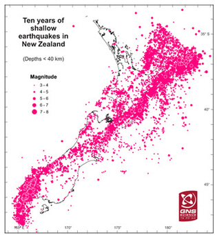 Canterbury and Christchurch earthquakes - New Zealand | 8th Grade Earth Science | Scoop.it