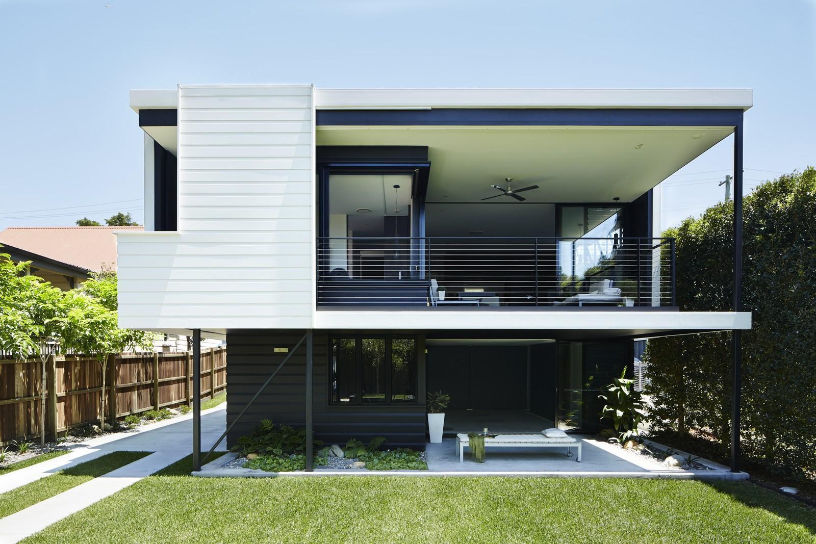 Traditional Queenslander Floor Plan Superbe R 233 Novation D Un Cottage Des Ann Amp