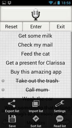 Shopping List Voice Memo Pro v2.23 | ApkLife-Android Apps Games Themes | Android Applications And Games | Scoop.it