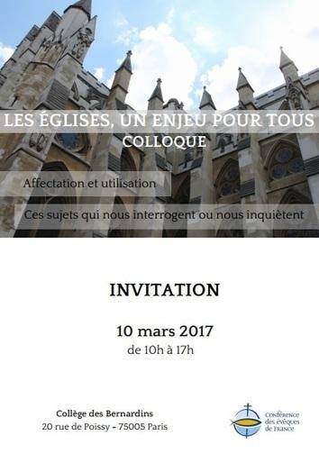 Colloque chez les Bernardins : Les églises, un enjeu pour tous | L'observateur du patrimoine | Scoop.it