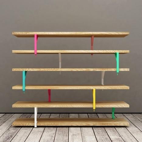 DIY : une bibliothèque design et unique! | DIY DIY | Scoop.it
