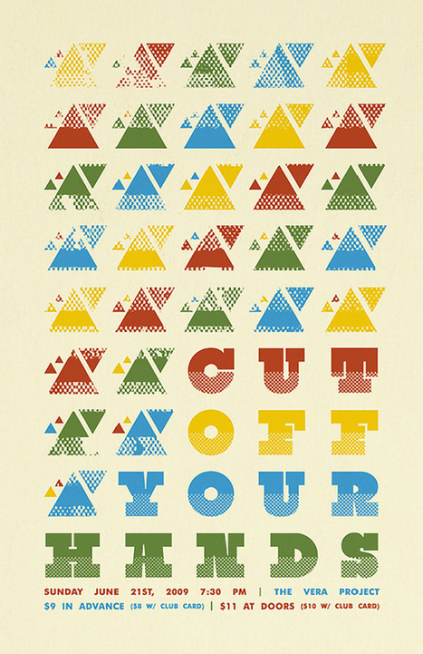 15 Cool Posters That Use Patterns Effectively | Lifestyle | Scoop.it