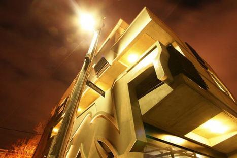 Un immeuble graffiti à Melbourne   Archiboom, l'architecture et le ...   urbanisme et citoyenneté   Scoop.it