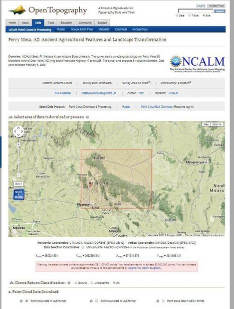Exploring the US Interagency Elevation Inventory | Digital Cartography | Scoop.it