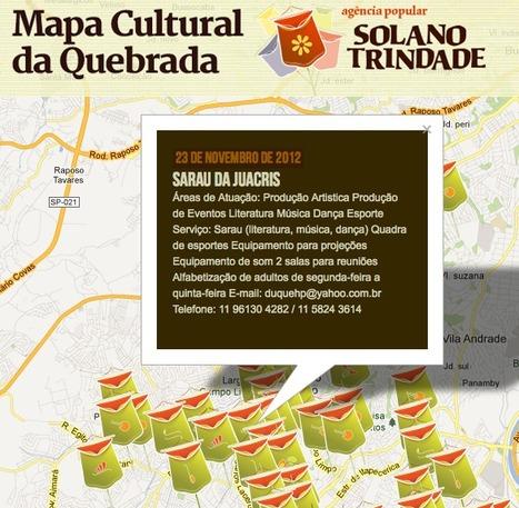 Mapa De Cultura – Ag. Solano Trindade   Cartografia Ciudadana   Scoop.it
