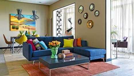 Na návšteve: Poďte s nami nakuknúť do 2-izbového bytu plného šťavy | domov.kormidlo.sk | Scoop.it