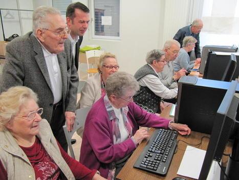Lomme : l'informatique, c'est aussi pour les seniors - La Voix du Nord | Seniors | Scoop.it