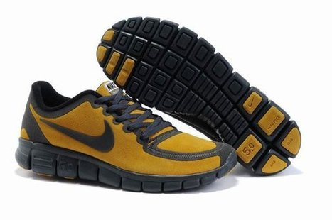 hot sales 60092 adaf7 2012-Nike-Free-Run-5.0-V5-Men-Skor-Pa-Natet-Gul-Brun.jpg (594x395 pixels)
