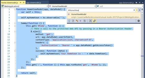 More Productive JavaScript in Visual Studio 2017 RC | Visual Studio ALM | Scoop.it