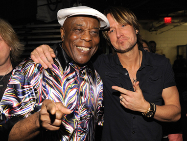 Keith Urban Gets Bluesy With Buddy Guy | Country Music Today | Scoop.it